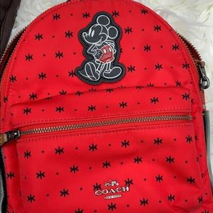 Coach Bags - RARE Coach x Disney Mickey Mouse Backpack